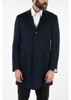 three quarter length 3 button chesterfield coat
