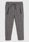 Pantaloni sport conici cu talie elastica