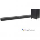 Soundbar Link Bar Subwoofer Wi Fi SW10 Android TV Google Assistant Bla