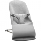 Balansoar Bliss Light Grey 3D Jersey cu Bara de Jucarii