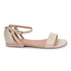 Sandale dama din piele naturala cu toc mic 5710