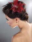 Palarie Hair clip model 8 Rosu