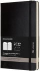 Agenda 2022 12 Month Pro Weekly Vertical Planner Large Hard Cover Blac