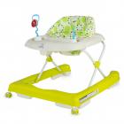 DHS Baby premergator cu roti de silicon Move verde