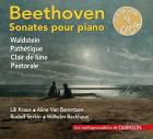 Beethoven Sonates pour piano Waldstein Pathetique Clair de lune Pastor