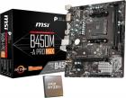 Procesor AMD Ryzen 5 3600 3 6GHz Placa de baza MSI B450M A PRO MAX Sta