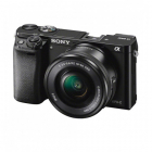 Aparat foto Mirrorless Alpha A6000 24 3 Mpx WiFi NFC Black Kit 16 50mm
