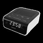 Aparat radio SRC136WH cu ceas