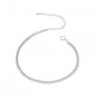 Bratara din argint Simple Chain Beads