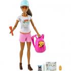 Set Barbie Papusa cu Figurina si Accesorii Wellness and Fitness