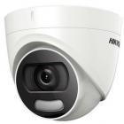 Camera supraveghere Turbo HD ColorVu Turret 2MP IR 20m White