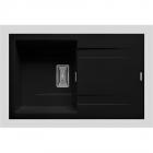 Chiuveta bucatarie Kartesio 79x50 1B 1D Black