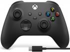 Controller Microsoft Xbox Series X Wireless Carbon Black USB C Cable