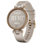 Smartwatch Lily Sport Rose Gold Light Sand Curea silicon