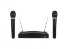 Set 2 Microfoane Wireless cu Receiver Cablu Jack 6 3mm Distanta operar