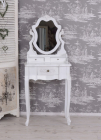 SEA57 Set Masa alb toaleta cosmetica machiaj oglinda masuta
