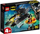 Lego Batman Urmarirea Pinguinului cu Batboat 76158