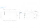 Ecran profesional LFD Monitor Signage Philips 86 Ultra HD 4K LED Displ