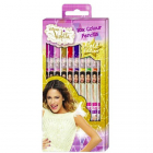 Set 10 Creioane Colorate Violetta