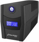 UPS line interactiv 1000VA 600W afisaj LCD iesire 2xSchuko baterie 12V