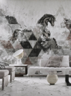 Fototapet contemporan Apollon personalizat idea murale