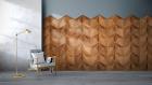 Panouri decorative 3D din lemn de stejar Diamond