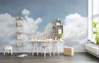 Fototapet Cuddle Clouds 435x205 Rebel Walls