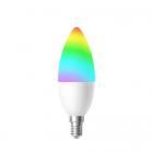 Bec LED Smart WiFi Woox R5076 E14 4 5W Color