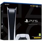 Consola PlayStation 5 PS5 Digital Edition 16GB RAM 825GB SSD Alb