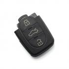 Audi carcas cheie cu 3 butoane baterie 1616 CARGUARD