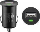 Alimentator USB bricheta auto 1 iesire 1A negru Goobay