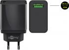 Incarcator de retea Goobay USB QC3 0 18W negru