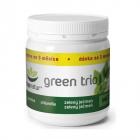 Green Trio Mix Chlorella Spirulina Orz verde 180 cps