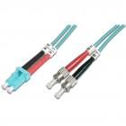 Cablu Fibra Optica LC ST 3m Turquoise