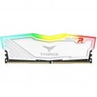 Memorie T Force Delta RGB White 8GB DDR4 3600MHz CL18