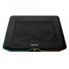 Cooler laptop N80 RGB Black