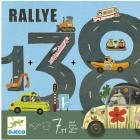 Joc de strategie Trasee si kilometri Rallye