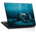 Sticker Laptop Underwater Tractor 13