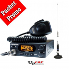 Pachet statie radio auto CB President Teddy ASC Antena CB PNI S75 lung