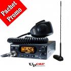 Pachet statie radio auto CB President Teddy ASC Antena CB PNI Extra 45