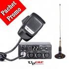 Pachet statie radio auto CB Midland M Zero Plus Antena CB PNI ML160 lu