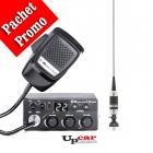 Pachet statie radio auto CB Midland M Zero Plus Antena CB Sirio Megawa