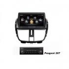 Navigatie dedicata pentru Peugeot 207 2006 2012 Edotec EDT C207 sistem