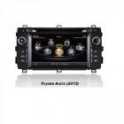 Navigatie dedicata pentru Toyota Auris 2013 Edotec EDT C308 sistem de