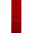 Combina frigorifica RCNA400E20ZGR A 347l sticla rosie