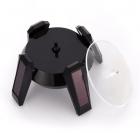 Stand rotativ incarcare solara pentru ceasuri bijuterii cu LED
