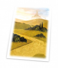 Ultimate Guard Printed Sleeves Standard Size Lands Edition Plains I 80