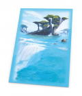 Ultimate Guard Printed Sleeves Standard Size Lands Edition Island I 80