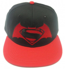 Sapca Ajustabila Rosie Logo Batman v Superman