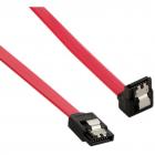 4World Cablu HDD SATA 3 SATA SATA 60cm drept blocare rosu